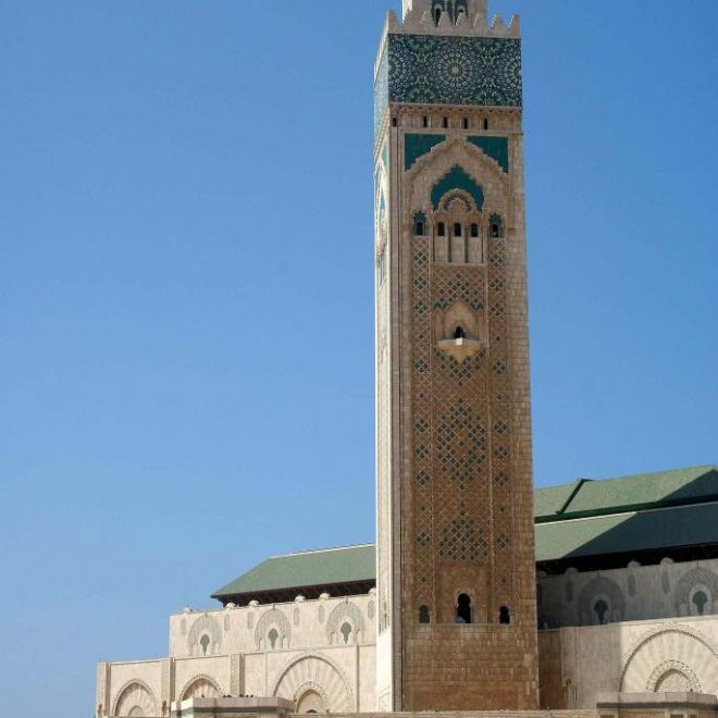 Minaret de 201 m, le plus haut du monde