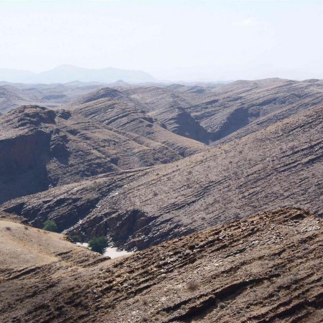 Histoire géologique très mouvementée