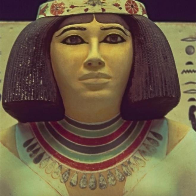 Nefret épouse de Rahotep-yeux de cornaline