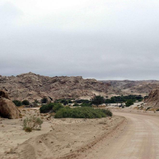 Vers la région des dunes