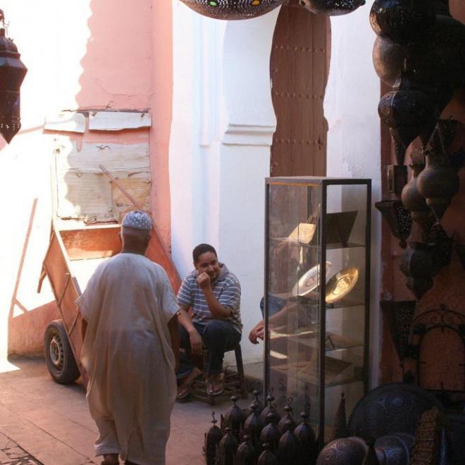 Direction la mosquée du souk
