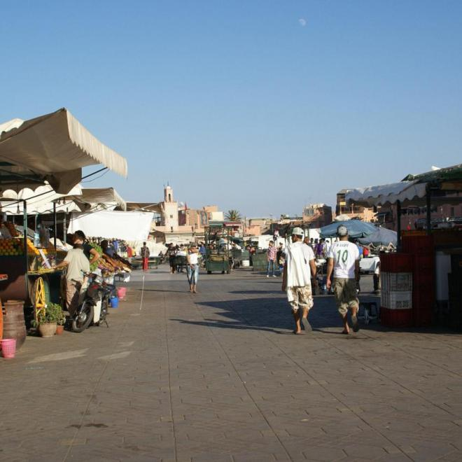 Place Djemaa El Fna