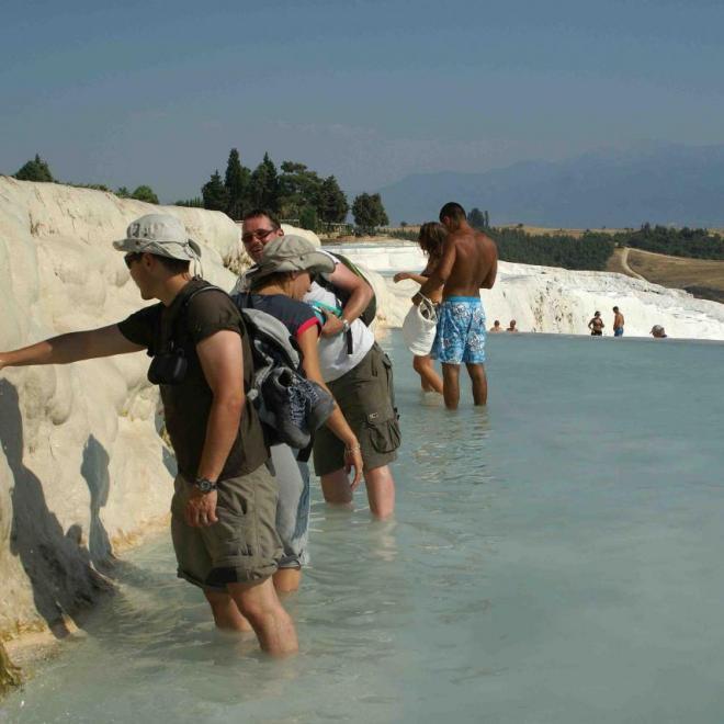 suintement d'eau permanent