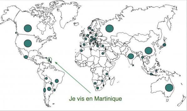Carte pays visite s