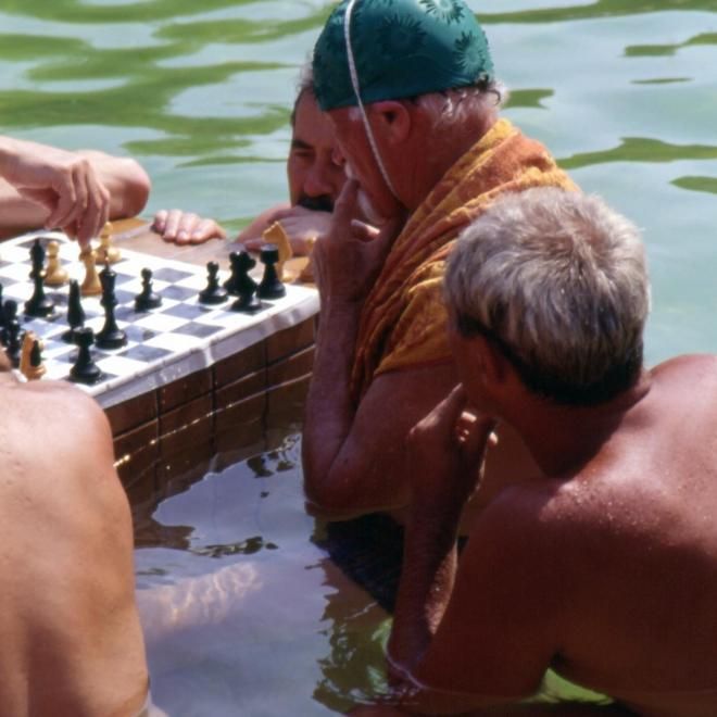 Joueurs d'échecs budapest