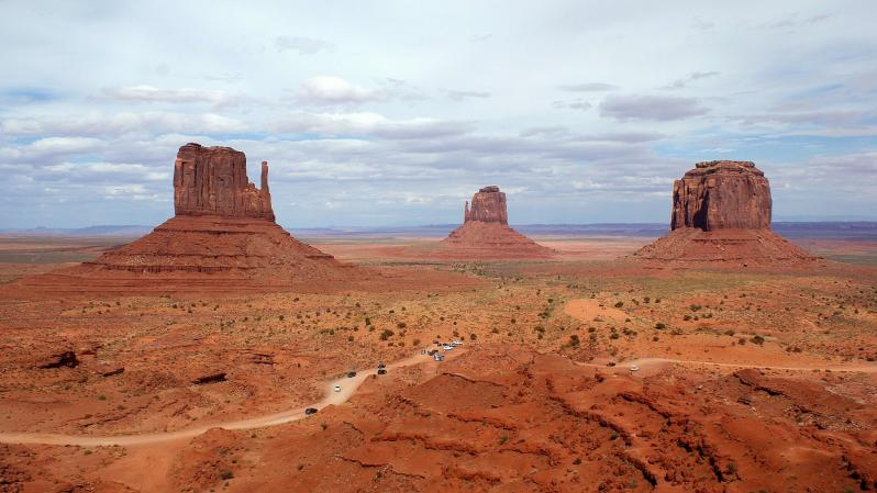 Monument valley pays navaro