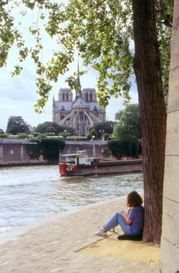 Paris bords de seine