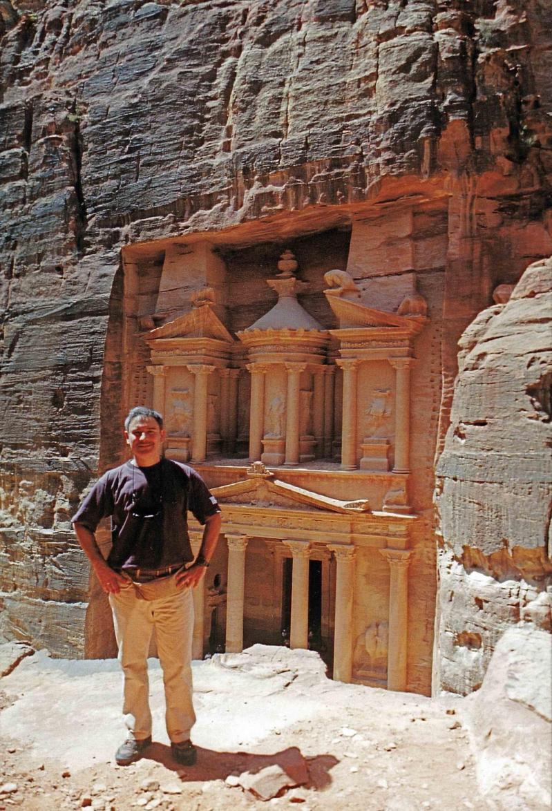 Petra devant le kashne